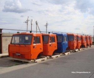 Кабина КАМАЗ 6520-5000014 евро-2 без спального места