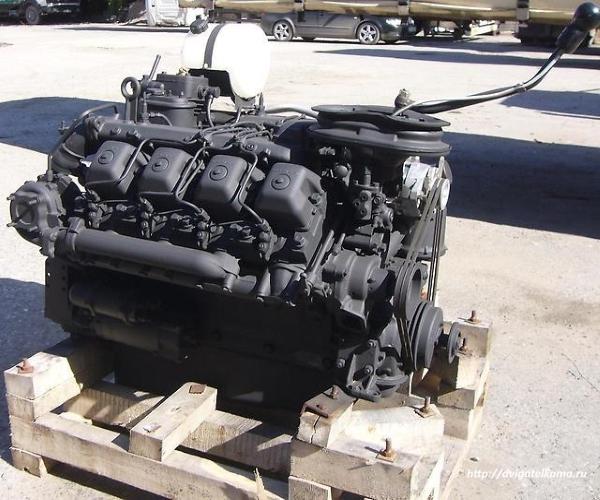 Силовой агрегат КАМАЗ 740.11 в сборе с 152 КПП