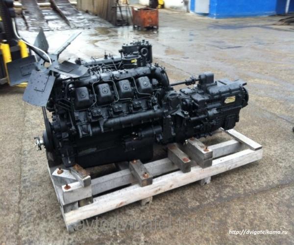 Силовой агрегат КАМАЗ 740.10 в сборе с КПП 152