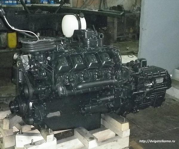 Силовой агрегат КАМАЗ 740.31 в сборе с КПП 152