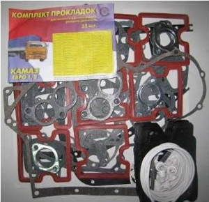 Прокладки двигателя КАМАЗ евро-1